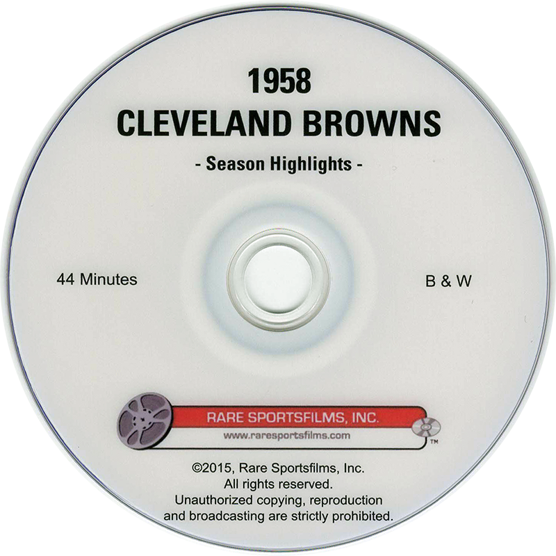 1958-cleveland-browns-highlights